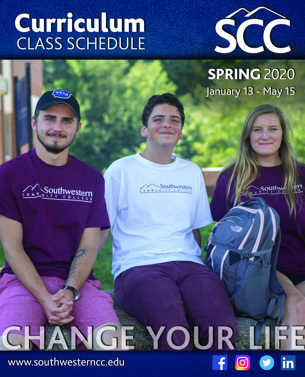 Cover image of Spring 2020, class schedule