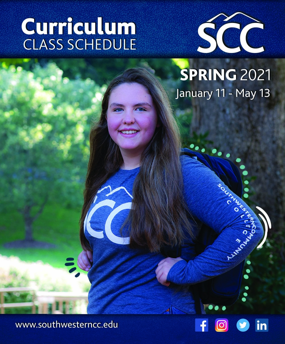 Cover image of Spring 2021, class schedule