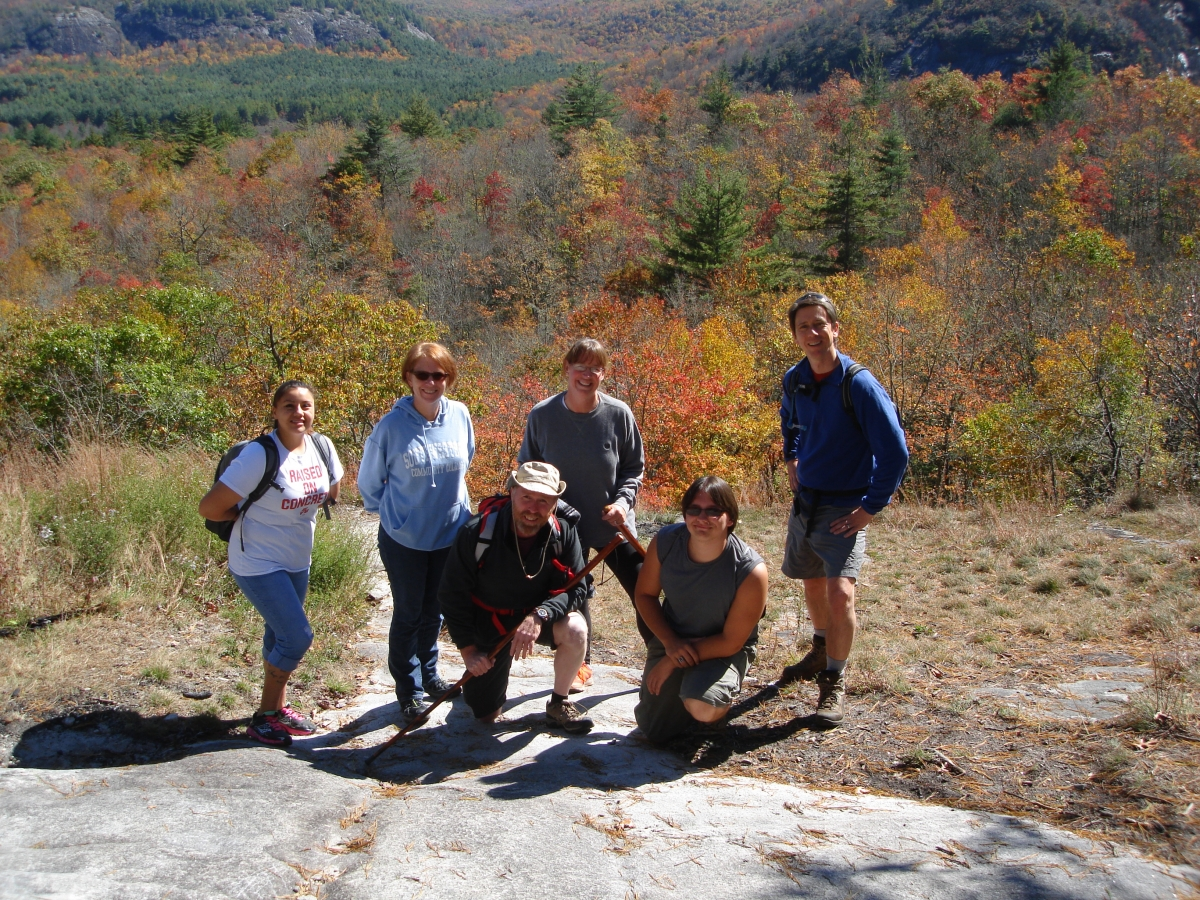 SSS Students on a Cultural Enrichment hiking trip