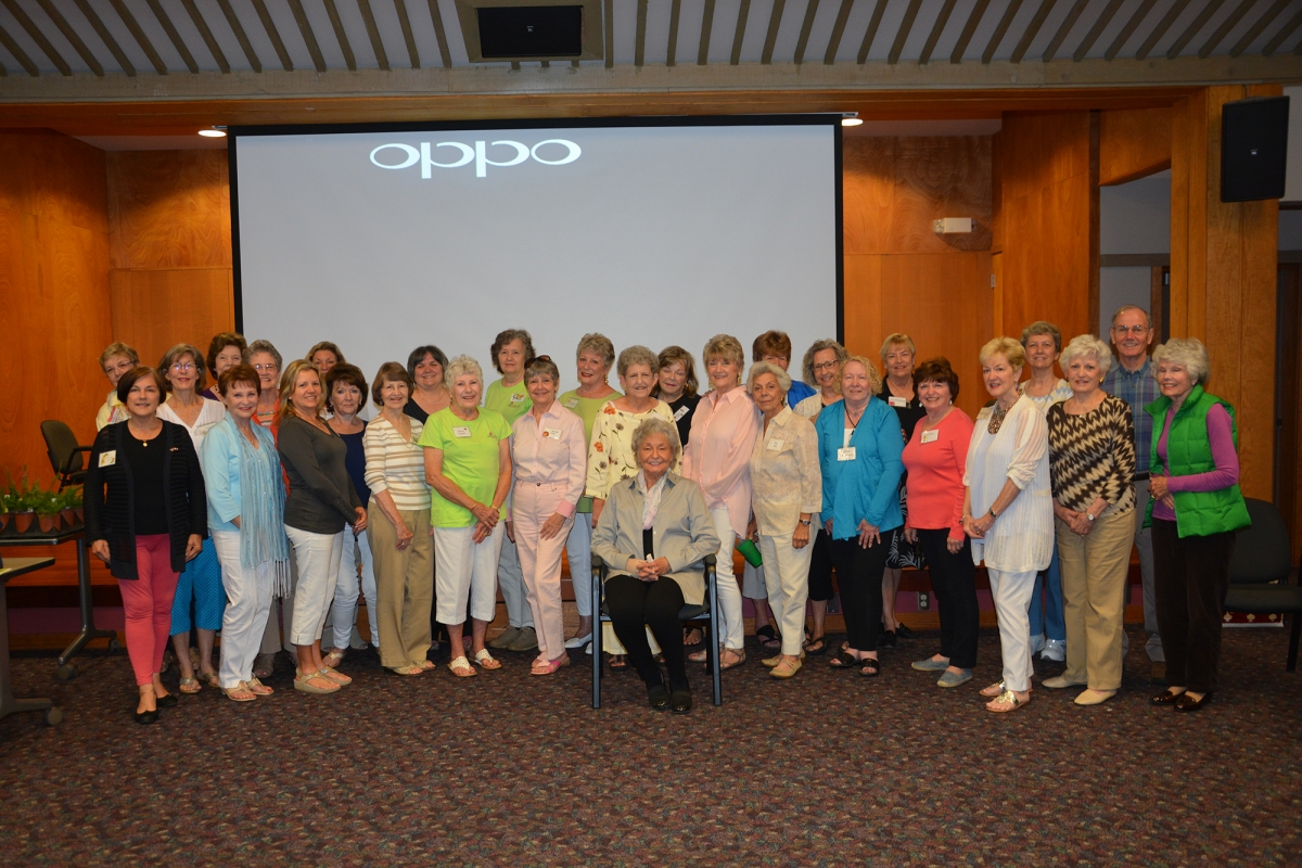 Members of the Valley Garden Club from Cashiers.