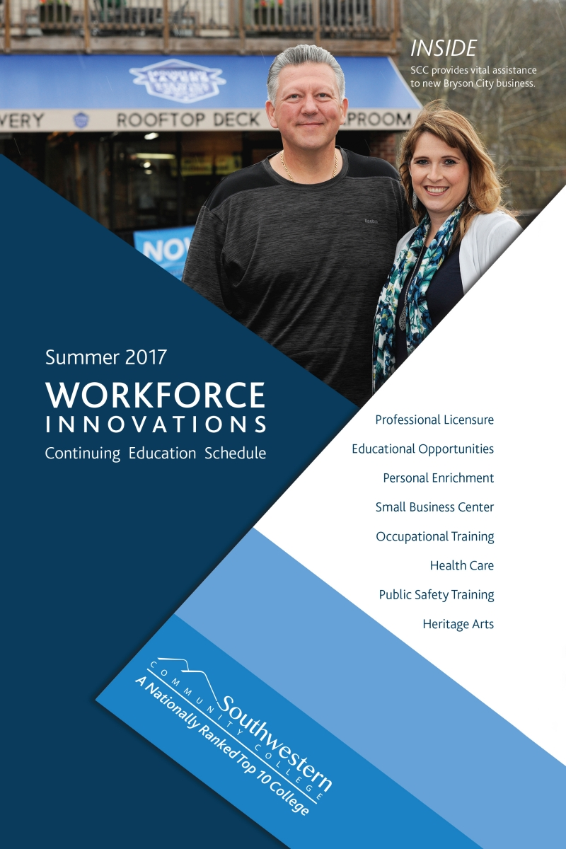 Summer 2017 Workforce Innovations Schedule.