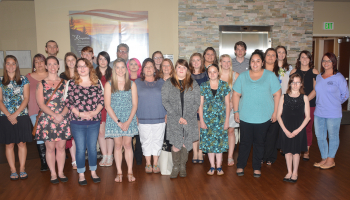 Jackson County students honored at honor society induction ceremony