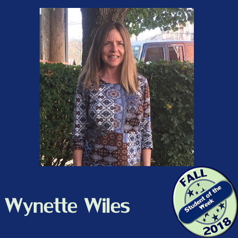Student of the week Wynette Wiles