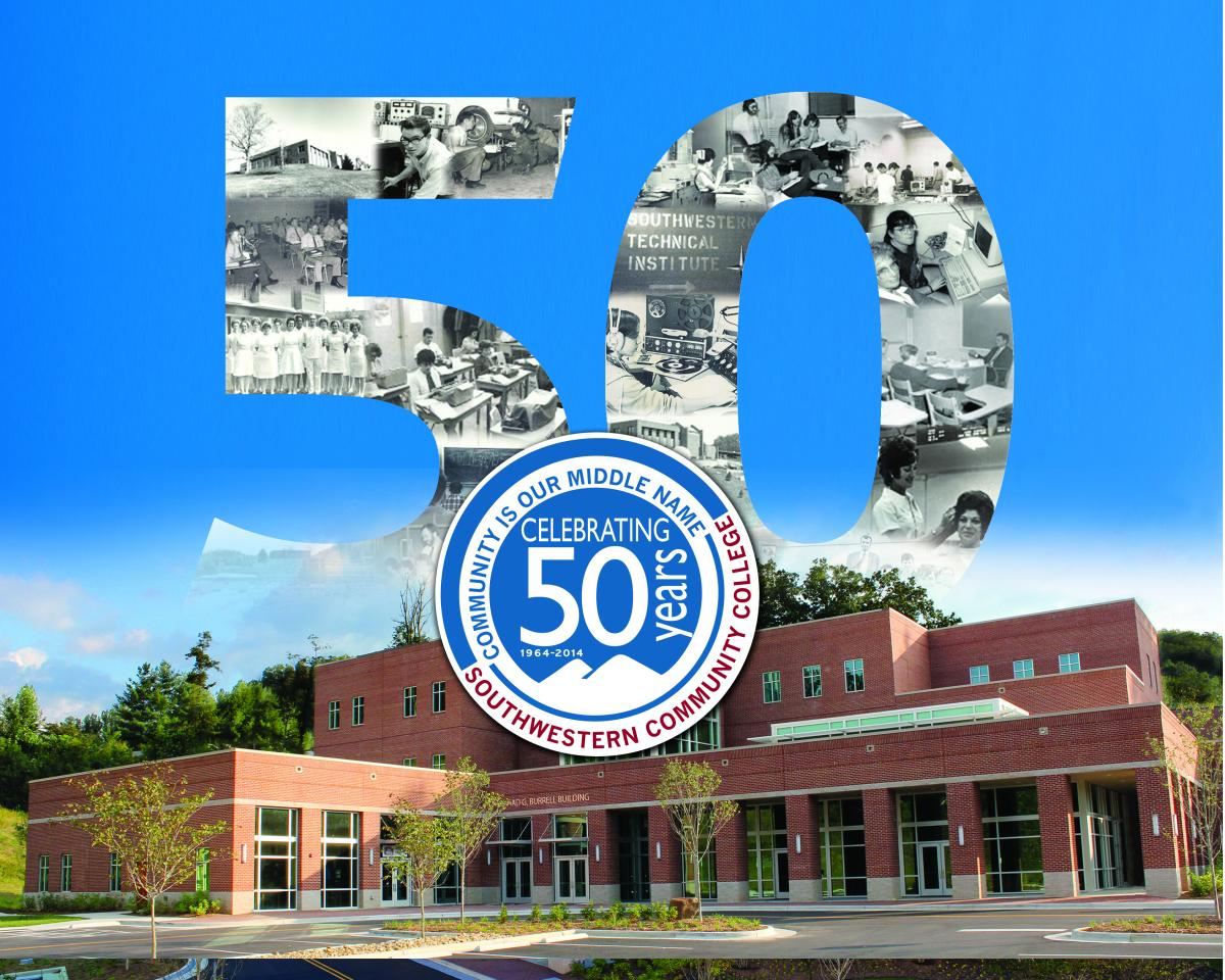 Image of cover for SCC's 50th anniversary book