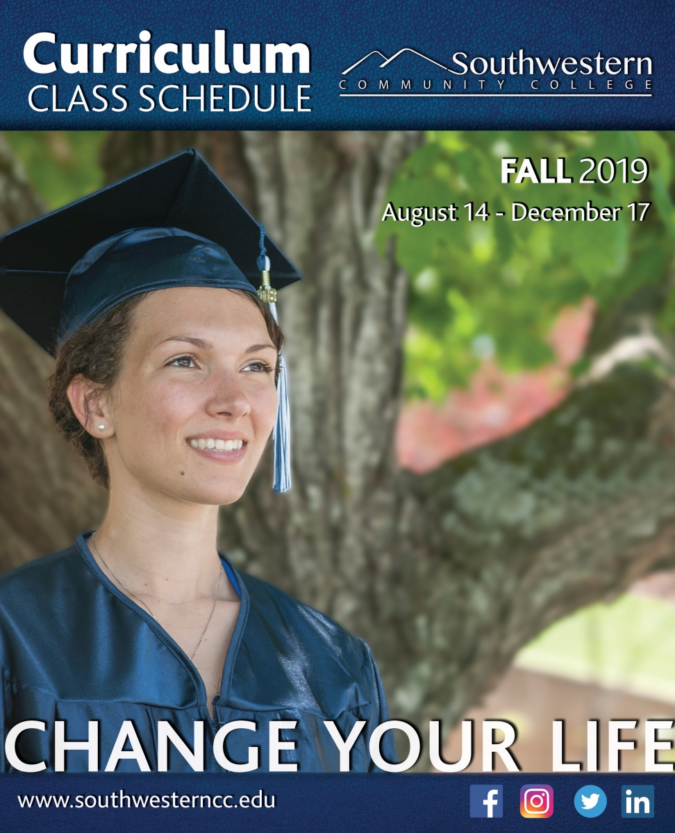 Cover image of Fall 2019, class schedule
