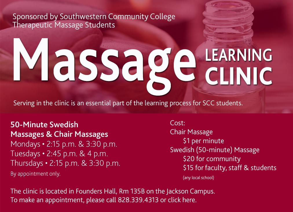Want a Massage?