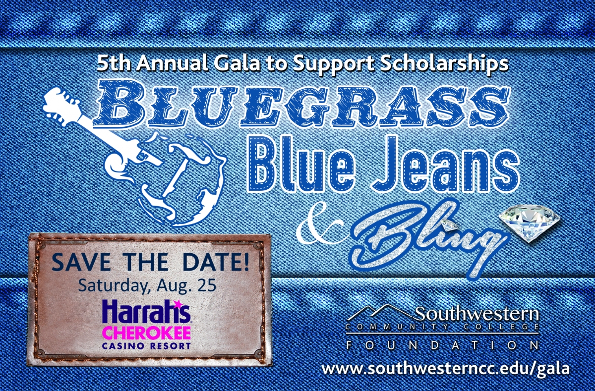 5th Annual Bluegrass, Blue Jeans & Bling is Saturday, Aug. 25 at Harrah's Cherokee Casino
