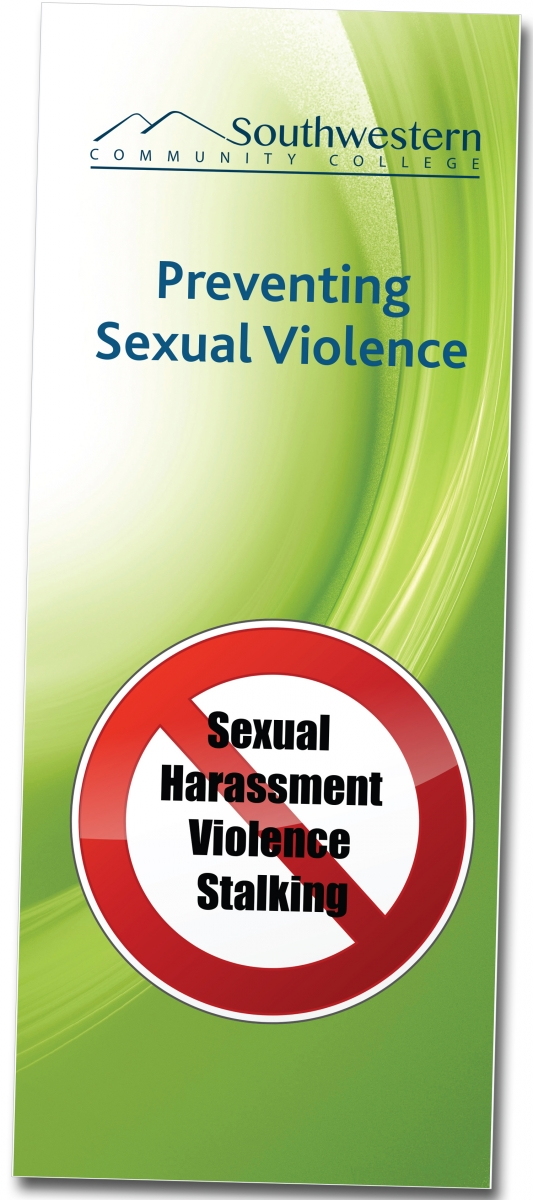 Read our brochure, Preventing Sexual Violence