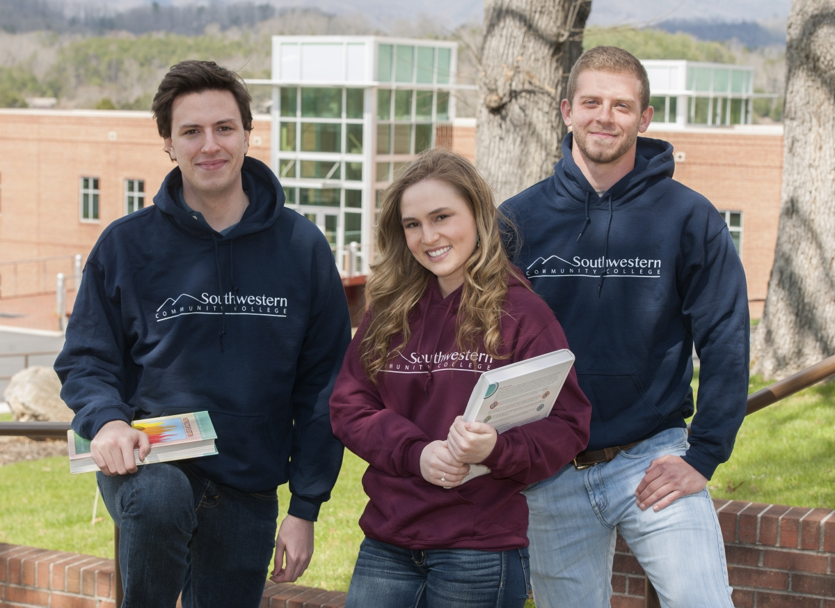 Southwestern college happy students looking into the camera who are enrolled in the work based learning program