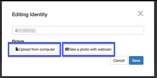 Image of two options to upload images