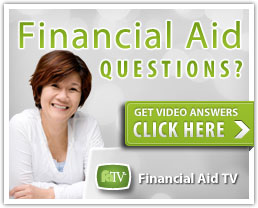 Clickable image for financial aid questions