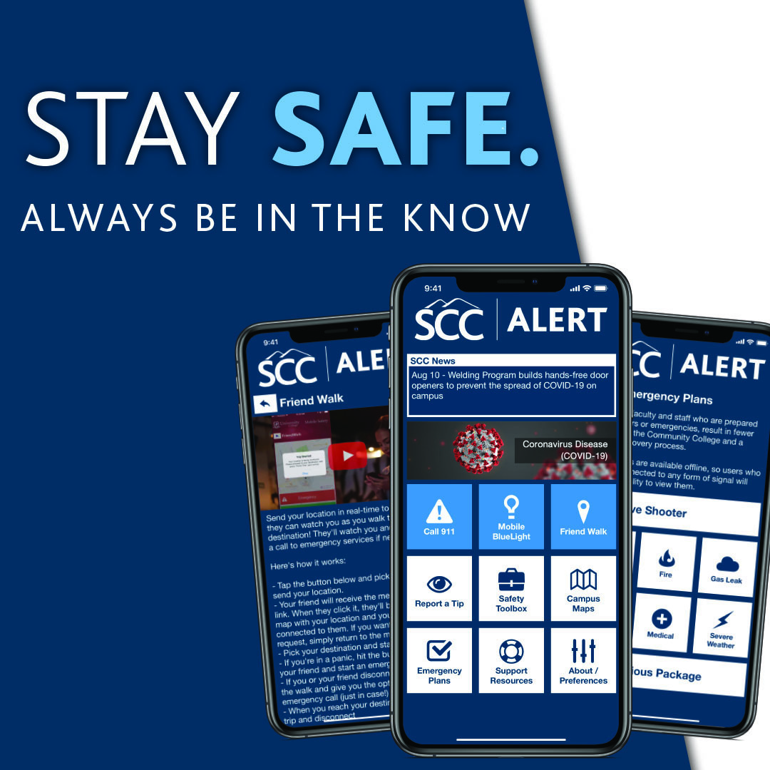 Stay Safe. Always Be In The Know. Download the App Today.
