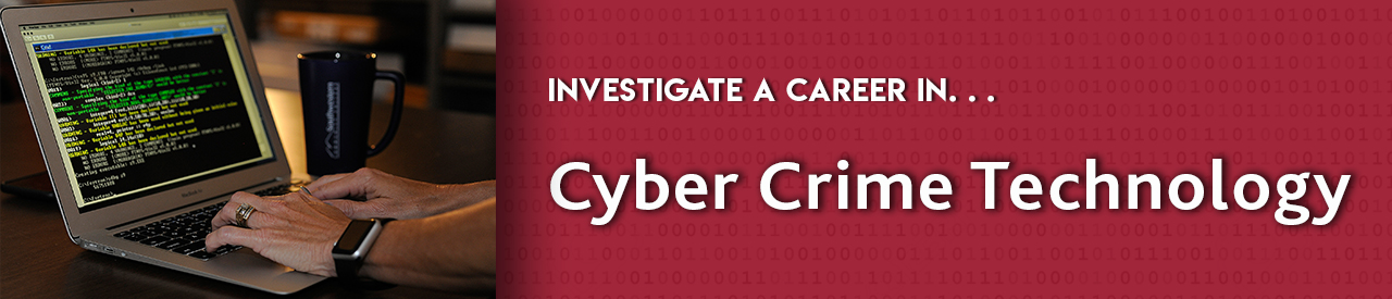 Investigate a career in cyber crime technology