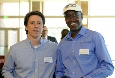 Mark Ellison and Stanley King at SCC.