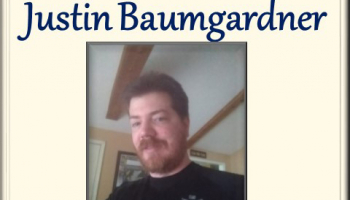 Photo of Justin Baumgardner, Student of the Week
