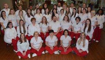 nursing class of 2018