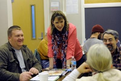 Tiffany Henry teaching appalachian farm school