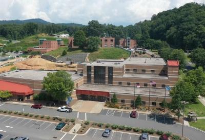 Aerial photo of SCC's Jackson Campus.